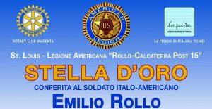 Boffalora – Cerimonia di posa della GOLD STAR