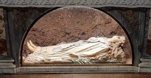 Oggi, occasione eccezionale per vedere la Statua di Sant'Agnese.